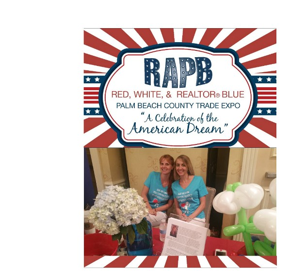 Jennifer and Candace at RAPB Red-White-Realtor Blue Event